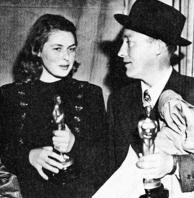 Ingrid Bergman and Bing Crosby