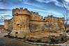 Castillo de Grajal de Campos (León) (Josepargil) Tags: fortaleza 7d león castillo almenas castillayleón torreón cañones troneras artillería grajaldecampos josepargil mygearandmepremium mygearandmebronze castillodegrajaldecampos