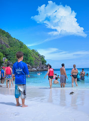 AVATAR World ! -     (Aziz J.Hayat   ) Tags: blue sea moon mountain green love film colors beautiful magazine movie that thailand island this kid nice mixed asia phiphi place avatar picture an honey similar kuwait stretching because  between called itself aziz hayat q8 grean     harmonious shehe        i       jhayat