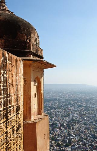 Above Jaipur