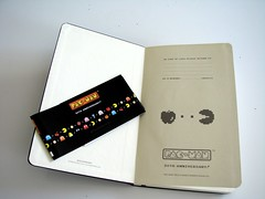 Llibreta Moleskine Pacman Interior