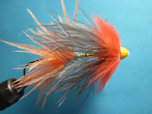 Pro Tube Spey Plume shrimp fly