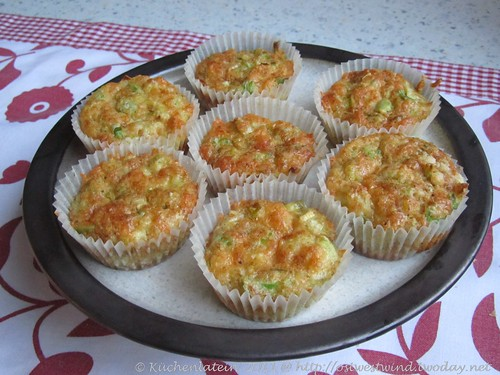 Lauch-Käse-Muffins