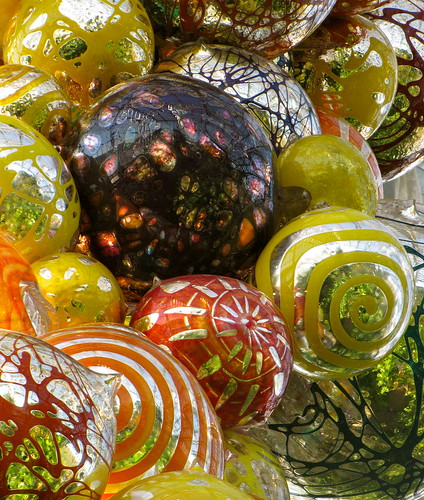 Chihuly at the Meijer Gardens in Grand Rapids