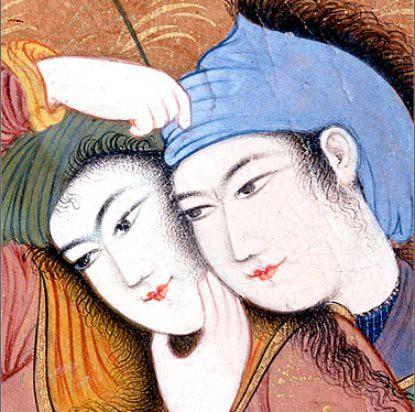 11a20 Pintura ca 1630 estudio real de Shah Abbas I 1588 1629 Metropolitan NY 2
