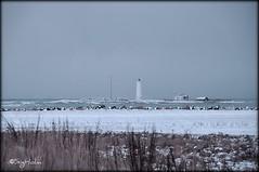 Grtta is an Island (Sig Holm) Tags: lighthouse snow island iceland islandia january sland islande icelandic snjr islanda viti grtta 2011 seltjarnarnes ijsland islanti  janar vitar    slenskt