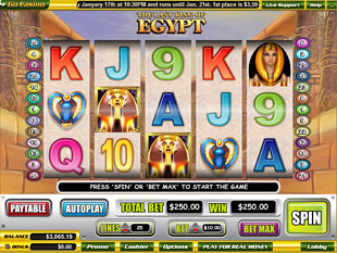 The Last King of Egypt slot game online review