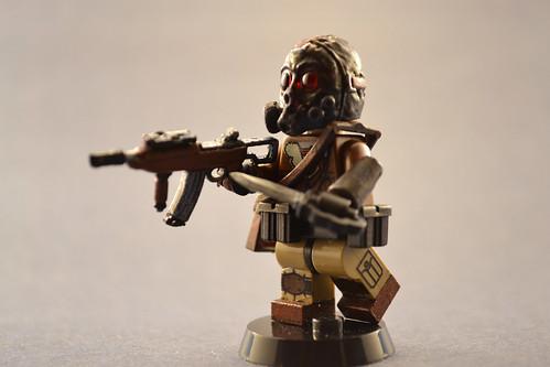 Custom minifig Wierd War 2 Spec-Ops 3