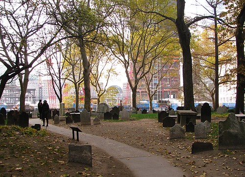 Cemetery of St Paul's Chapel NYC