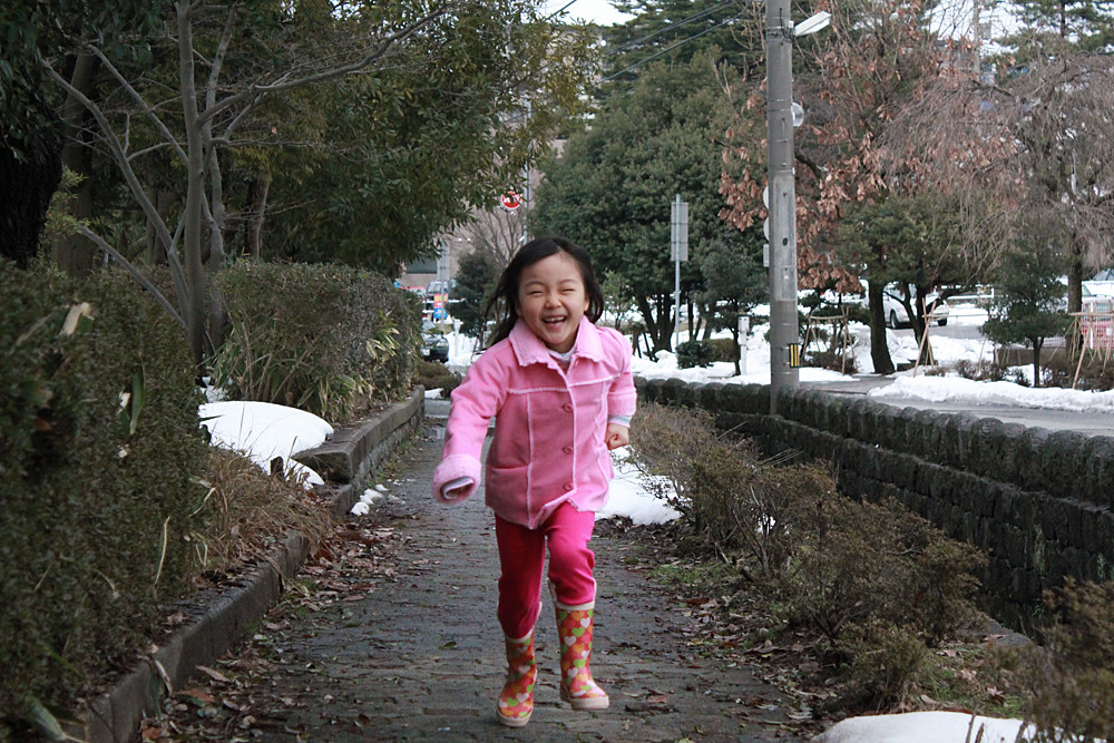 Running Girl 走る!