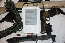 Kindle eReader, Survival Tools, Survival Gear, Kindle, ereader, Amazon Kindle, Survival Knife, Survival Pistol, Survival Shotgun