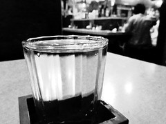 Nihonshu (joyjwaller) Tags: blackandwhite glass beauty japan bar tokyo ueno sake izakaya nihonshu japanesealcohol watersofparadise