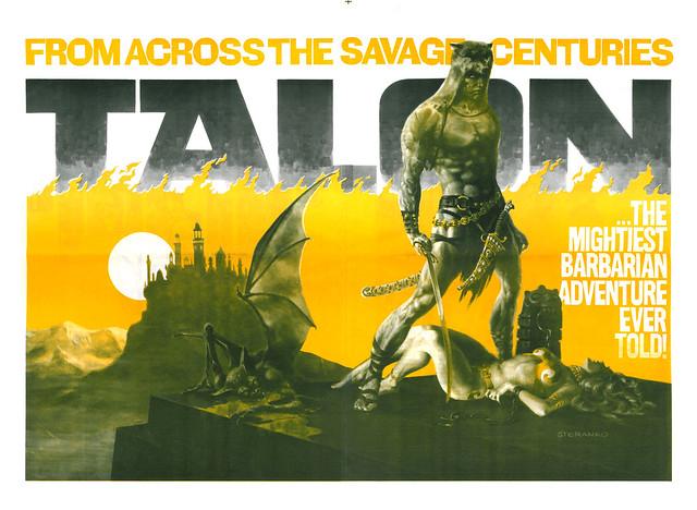 Steranko Talon poster