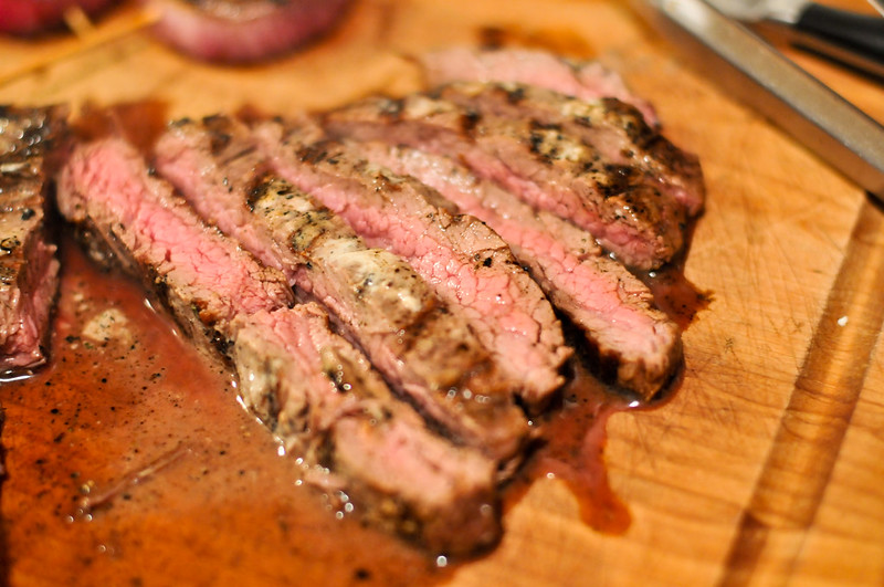 Guinness-Marinated Steak Sandwich
