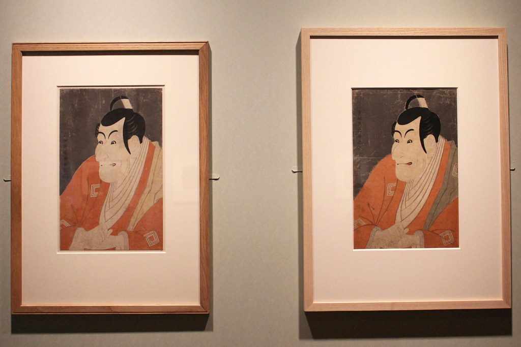 The special exhibition Sharaku that started on may 1st (3)