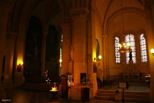 Chapelles de l'église