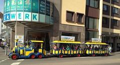 Bimmelbahn (micky the pixel) Tags: zug vehicle bahn saarland lindenallee neunkirchen bimmelbahn