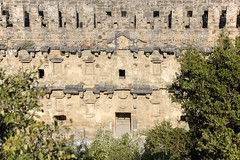 Aspendos_10 (Romeodesign) Tags: turkey trkei aspendos ruin theater antalya 550d mediterranean coast turkish riviera trkiye peninsula pamphylian ruins historic ancient roman amphitheatre theatre antique culture cultural monument romans architecture holiday urlaub trees