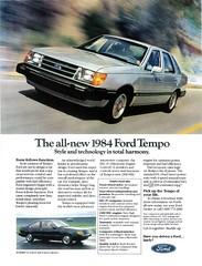 1984 Ford Tempo (USA)