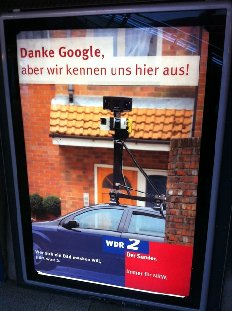 """Danke Google, aber wir kennen uns hier aus."" Wrong on so many levels. #wdr2"