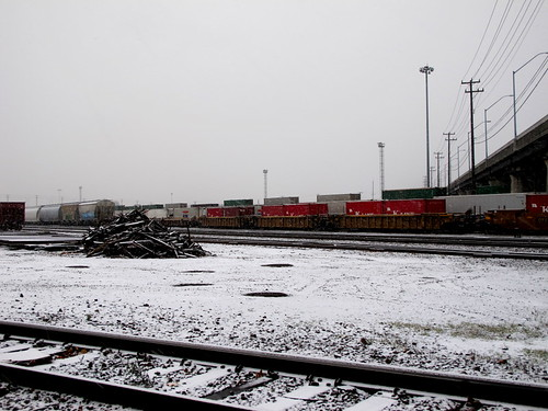 Railyard Snow