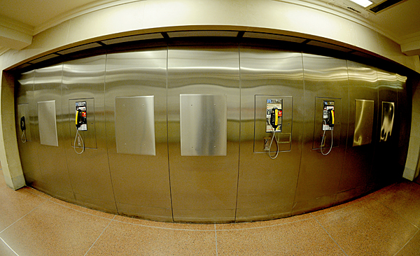 Public Payphones at Grand Central Terminal, NYC, New York by Karen Strunks