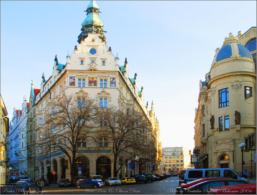 Praha/Prague/Prag Hotel Paris+Obecni dum 2004-12