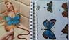 Vuela, vuela... (Para gustos, colores) Tags: moleskine collage album notas papel cuaderno recortar