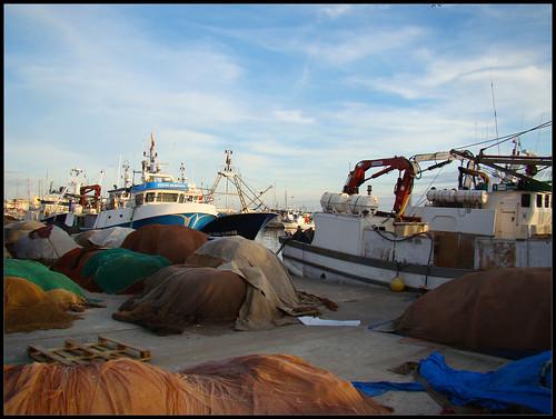 Aparejos pescadores Caleta de Vélez