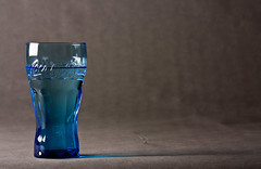 the blue one (janaju) Tags: blue water grey wasser grau blau product glas produkt seitenlicht