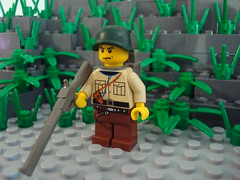 LEGO WWII Soldier (awesum2movies) Tags: soldier lego wwii