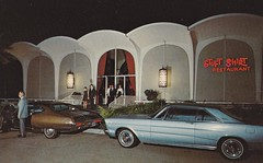 Stuft Shirt Restaurant Newport Beach, CA (hmdavid) Tags: architecture modern vintage restaurant postcard newportbeach 1960s southerncalifornia googie midcentury stuftshirt
