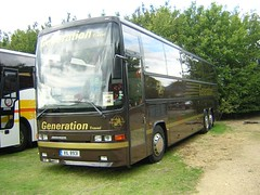 Generation XIL 8931 (quicksilver coaches) Tags: volvo duxford generation jonckheere deauville stokesley showbus b12t xil8931 m28hny
