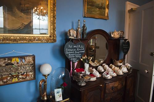 The Tearoom, La Rosa Hotel, Whitby, North Yorkshire