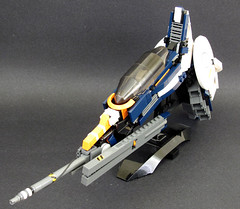 Shiro Murakumo-- 1/4 (tobyhein) Tags: lego space scifi revision starfighter