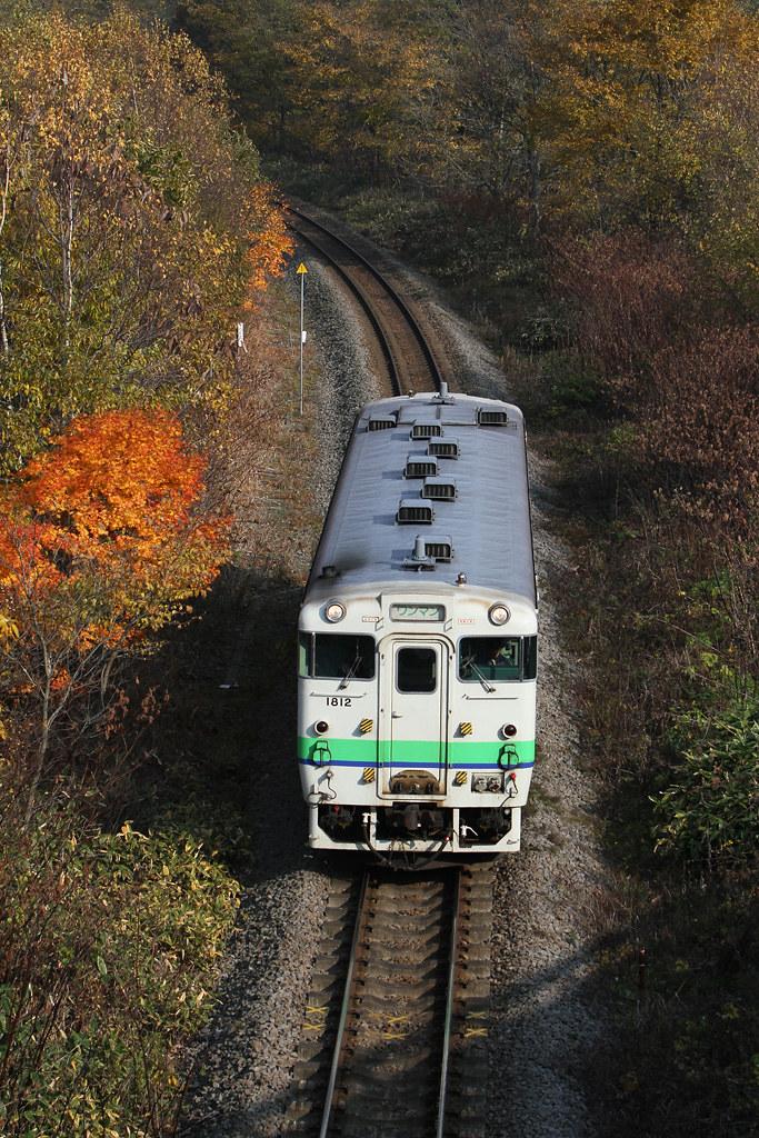 JR Hokkaido's KiHa 40 diesel railcar