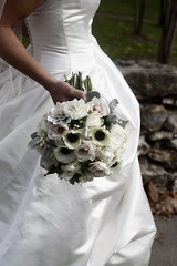 A Winter Bride's Bouquet (Blue Bouquet) Tags: white anemone portfolio primary bridalbouquet kdog