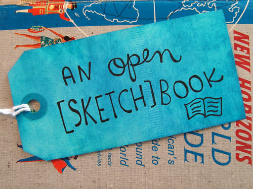 an-open-sketchbook