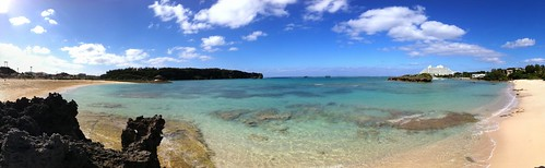 Manza Beach pano (iPhone4)