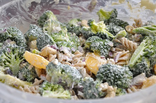 Vegan Creamy Broccoli Salad