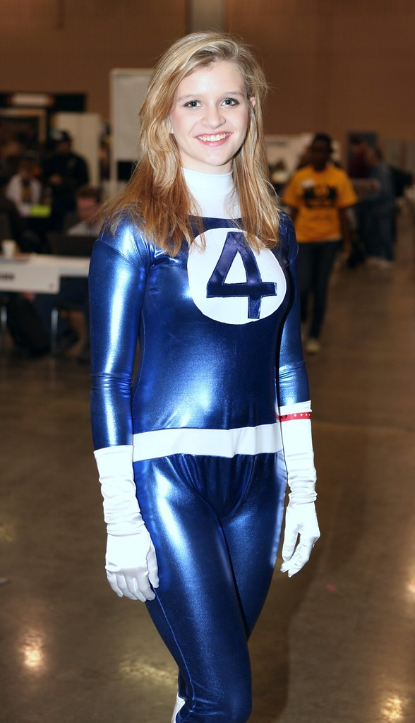 Invisible Woman Cosplay The World's Best Photo...