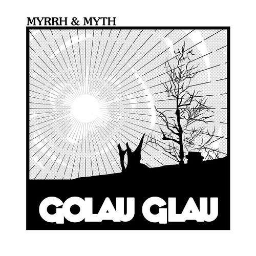 Golau Glau 'Myrrh & Myth' EP artwork