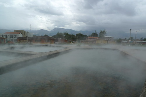 Hot Springs - Banos del Incas, Peru