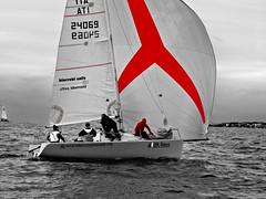 Red Rules 3 (DesdemonaAcida) Tags: vela regata santamarinella sngm