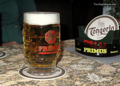 Primus Beer - Antwerp, Belgium