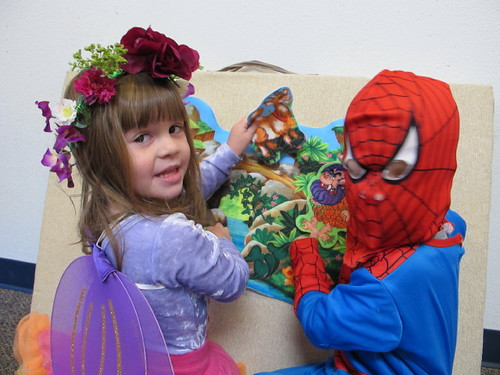 The Fairy Princess & Spider man