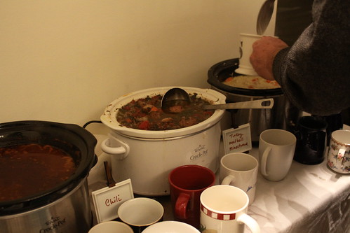 Delicious soups made by the Agees