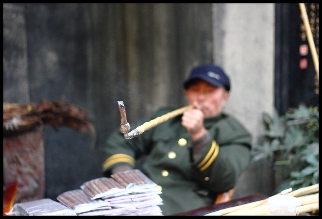 smoker in Chengdu