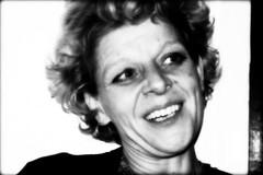 Portrait of a Woman IV (macushla63) Tags: portrait bw woman white black face portret zwart wit vrouw zw gezicht