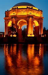Palace of Fine Arts, San Francisco, CA, USA